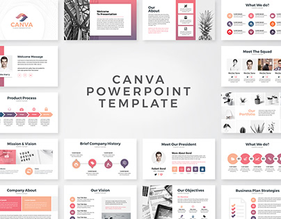 Canva Business PowerPoint Presentation Template