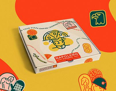 Napoleon Pizzeria | Branding