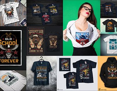 Premium T-shirt design & Mockup for sell