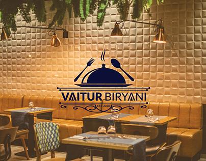 Biryani Restaurant Logo