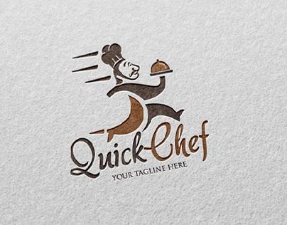 Quick Chef - Logo Template