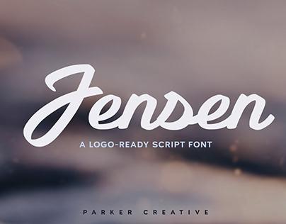 Jensen - Logo-Ready Script Font