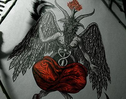 Baphometh, illustration
