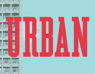 Urban Serif Font