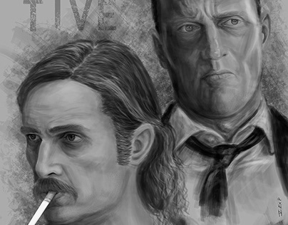 True Detective I / digital painting