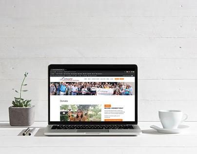 Livermore Shakespeare Festival Website Design