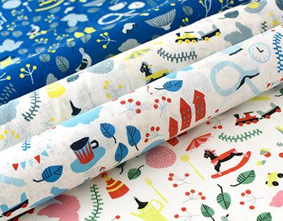 "textile work ""LIFE"""