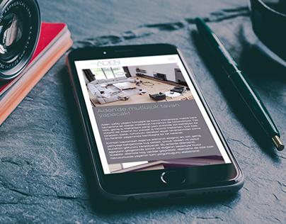 Aden Ballık Pınarı Responsive Web Design