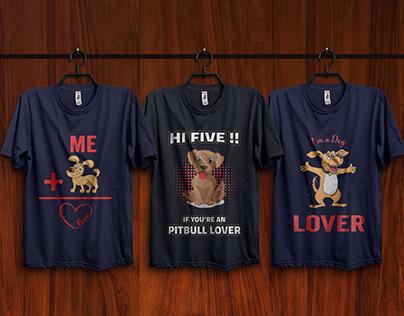 Dog T-Shirt Design