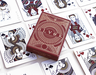 BLVCK SPADES - Egyptian Playing Cards