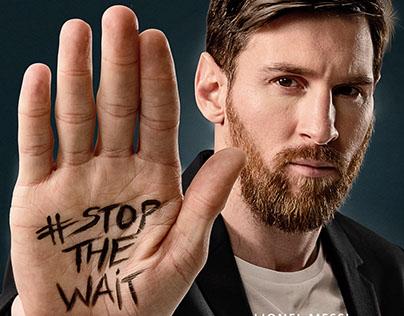 Tour n' Cure - #stop_the_wait -Lionel Messi-