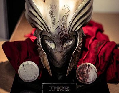 War Thor helmet. Thor Ragnarok