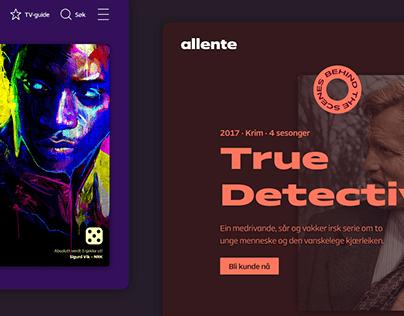 Allente - E-Commerce Website