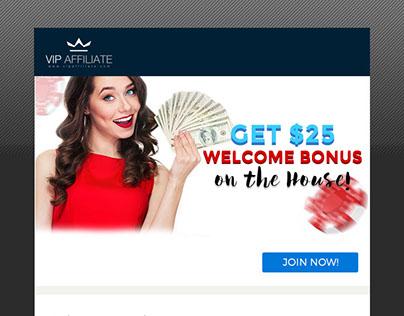 Betting Mailer Design (World Premium Service Ltd)