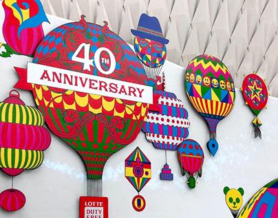 LOTTE DUTY FREE 40th Anniversary