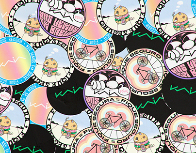 KAIA DELIVERY STICKERS