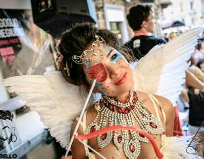 Make up Angel (Torino,  Italy,  Gay pride 2015)