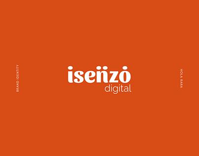 Isenzo digital - Brand identity design