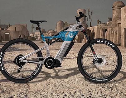 Star Wars Designs on Sondors ROCKSTAR E-Bike