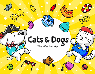 Cats & Dogs - The Weather App