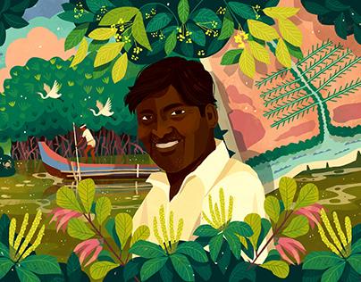 Editorial Illustration - Mongabay India