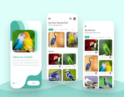 Birds buy and sell app