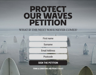 Protect Our Waves Petition