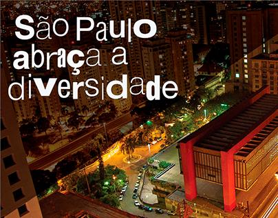 São Paulo abraça a diversidade [Cartão Postal]