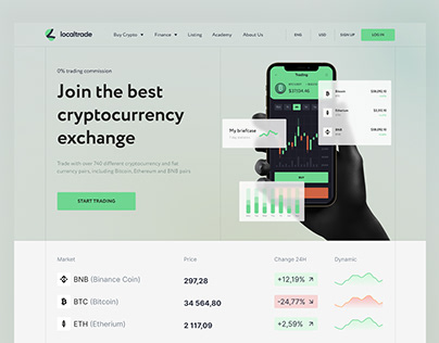LocalTrade cryptocurrency exchange trading