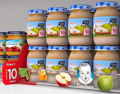 Gravity, Dividers & Border | Gerber | Nestlé