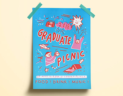 2018 Grad Picnic Poster