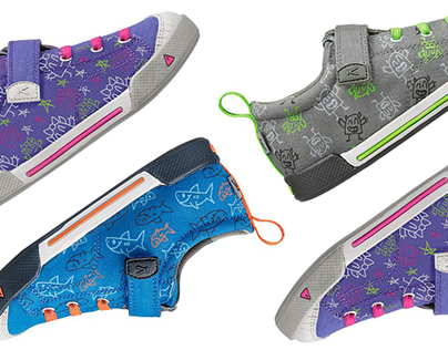 KEEN Kids Shoe Patterns