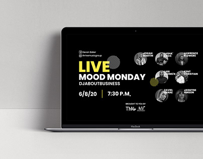 Live Stream Events - Promotional Material