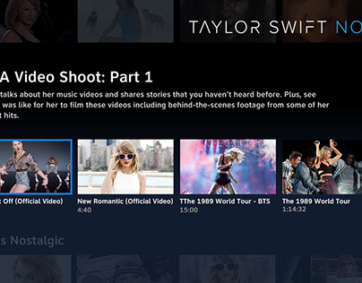 Taylor Swift NOW– UX Case Study