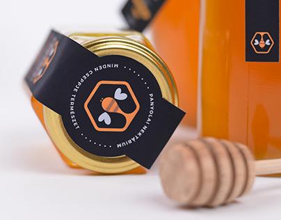 Panyolai Nektárium Honey - Packaging Design