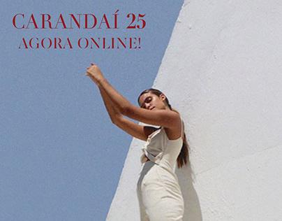 Carandaí 25 𝓍 co.brand | Mídias Sociais e Newsletters