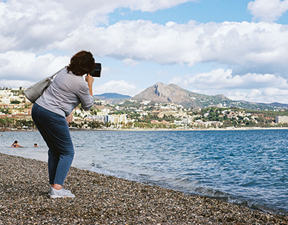 Street photography - Off season on the Andalusian coast