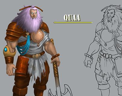 Quaa - Mountian Warrior