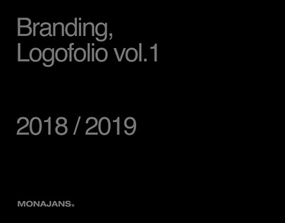 Branding, Logofolio vol.1