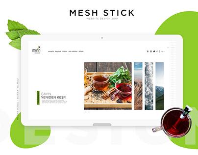 Beverage Website | Website Design | Mesh Stick