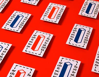 architecture festival / branding