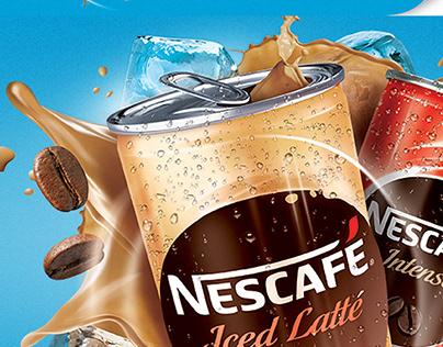 Nescafe ICED LATTE KEY VISUAL