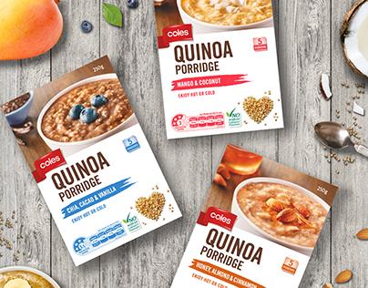 Coles Quinoa Porridge & Muesli