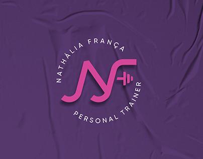 Identidade visual para personal Trainer Nathália França