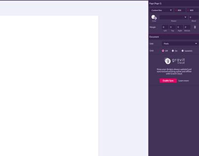 App Icon in Gravit