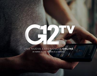 G12tv · Website Design