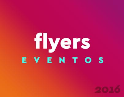 Flyers Eventos // 2016