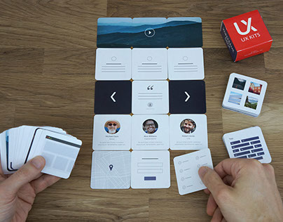 Wireframe Deck of Cards
