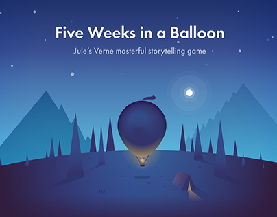 Five Weeks in a Balloon: Storytelling Game