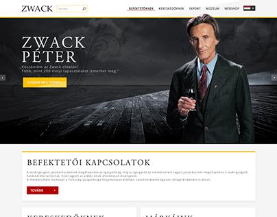ZWACK Webshop koncept